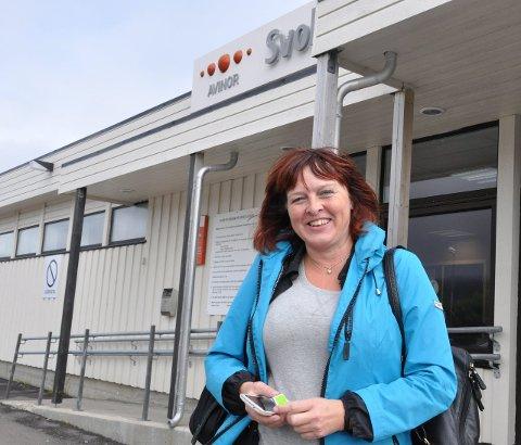 Sømløse reiser: Daglig leder Elisabeth Dreyer i Destination Lofoten er skuffet over at billettavtalen mellom Norwegian og Widerøe ikke omfatter flyreiser utenlands. foto: John-Arne Storhaug