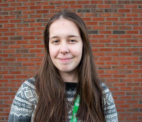 Nyvalgt: I helga ble Kaja Marie Nylund fra KAbelvåg en av fire nyvalgte medlemmer av sentralstyret i Natur og Ungdom.