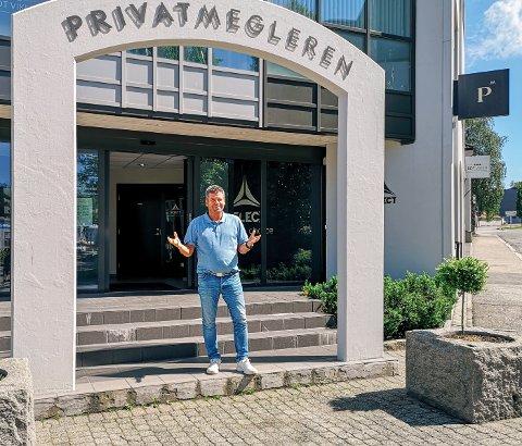 TREND: – Det er selvfølgelig lokale kjøpere også, men en stor del er folk fra Oslo som vil flytte til Moss, sier megler Eirik Reinnel om boligsalget i år.