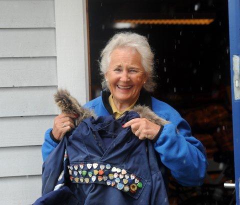 VETERAN: Karin Madsen har deltatt i Skarverennet i 40 år og i år er det intet unntak.