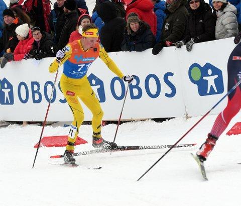 DEBUT: Anders Sørensen er inne i sin første sesong som seniorløper, og NM var nok en stor opplevelse.