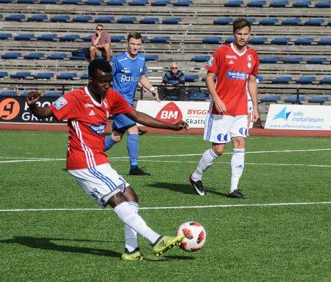 Mohamed Abdullahi er tilbake etter korsbåndskade, var kaptein og styrte FK Gjøvik-Lyn 2 til sesongens første seier.