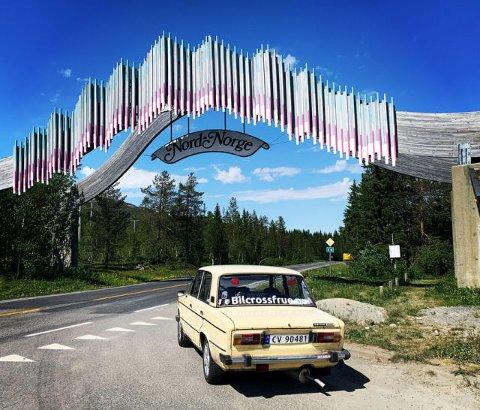 På vei inn i eventyreet - porten til Nord-Norge. Foto: Priva