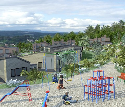 KRAV: Barnehagetomt var et krav fra kommunen i Tanberglia. Onsdag sa politikerne nei til ny barnehage.