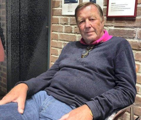 TILFREDS: – Jeg er veldig fornøyd, sier Geir Ustgård, styreleder i Runar IL. Han satt på tilhørerbenken under tirsdagens planutvalgsmøte.