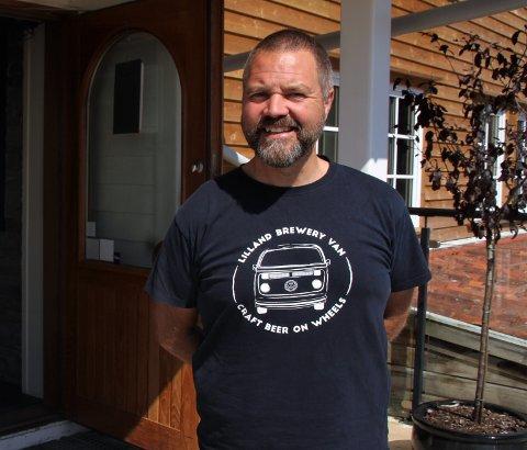 – GOD HJELP: Hotelldirektør Per Kristian Djuvsland fortel at Lilland Bryggerihotell har søkt kompensasjon for tapt inntekt på grunn av korona og færre gjestar fleire gonger.