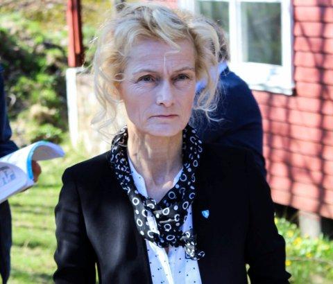 I RETTEN: Margrethe Løgavlen fikk en rekke spørsmål fra aktor og Harald Svendsens forsvarer.