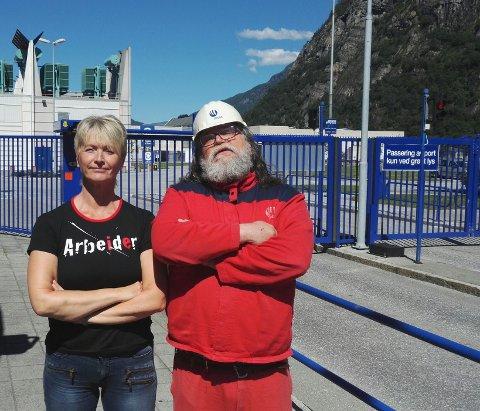 Tove-Lise Torve og Arve Baade.