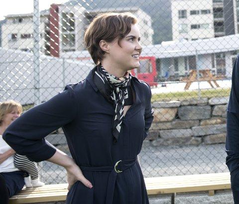 Barnehagebyråd Linn Kristin Engø (Ap) vil kjøpe Damsgårdssundet barnehage hvis den er til salgs.