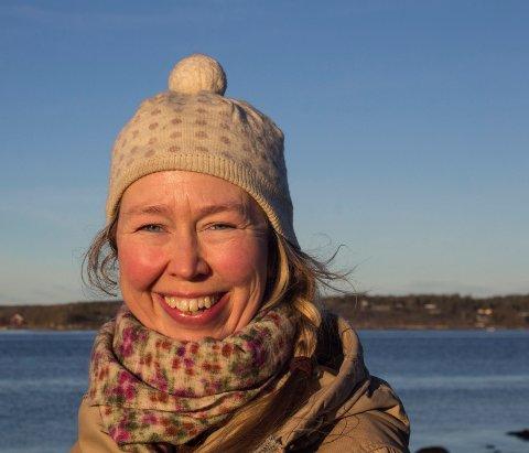 Ideens fødested:  Kulturrådgiver Solveig Egeland fikk ideen til Håpets katedral på Brattestø.