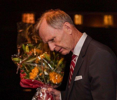 Nedtur: Truls Velgaard ble ikke glad for resultatet fra forhåndsstemmene. Høyre taper sammenlignet med forrige valg.
