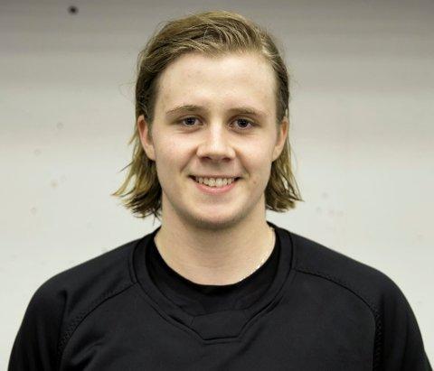 Jonas Medby har vore borte frå Lillehammer i to sesongar. Nå er han attende i heimbyen, og har både grodd skjegg og vorte ein enda betre hockeyspelar. (Arkivbilde)
