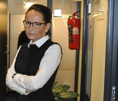 BISTANDSADVOKAT: Line Jacobsen Vestengen er bistandsadvokat for en av kvinnene som hevder at den kjente danseren Julio Kopseng har voldtatt henne. Arkivfoto