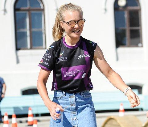 USIKKERT: Emilie Moberg vet fortsatt ikke om hun kan delta i Ladies Tour, som starter på torsdag.