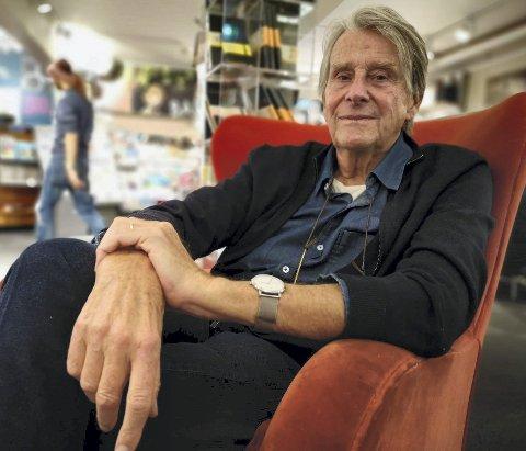 FERDIG MED KRIM: Knut Faldbakkens «Stammeren» kommer ut i desember og dette blir mest sannsynlig den siste boka i krimsjangeren med Jonfinn Valmann i hovedrollen.