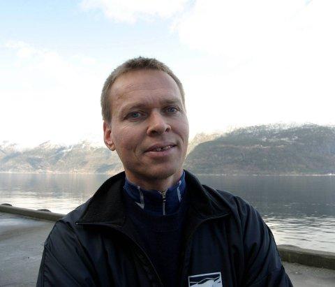 Skal styra beredskap: Stig Hope vert koordinator for beredskap i Ullensvang kommune. Arkivfoto