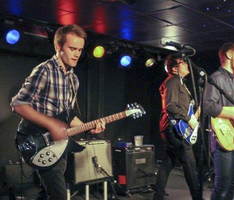 Palmface:  Bandet spiller under Vinterrock på Torvastad lørdag og er headliner.
