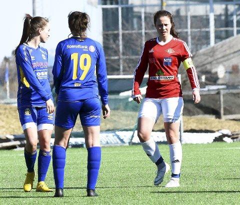 TIL TROMSØ: Vilde Asbøll har skrevet under for 1.divisjonslaget Fløya. Tirsdag kveld debuterte hun med å bidra til at laget gikk videre i cupen med 3-0-seier.