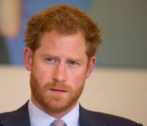 PÅ BESØK: Prins Harry kommer til Bardufoss for å besøke Clockwork.