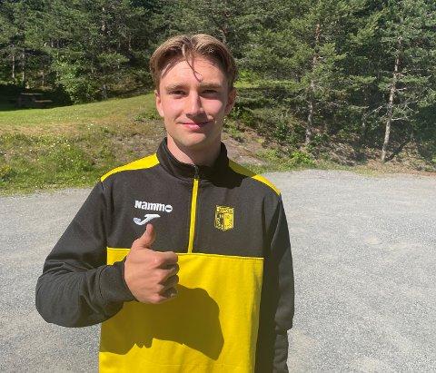 KLAR TIL KAMP: Ole Hoel Lervik fra Molde sitter på benken når Raufoss møter KFUM Oslo fredag.