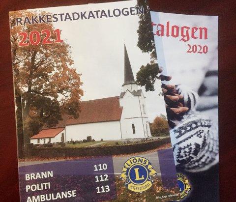 TRADISJON: For 19.året på rad har Lions Club Rakkestad laget Rakkestadkatalogen.