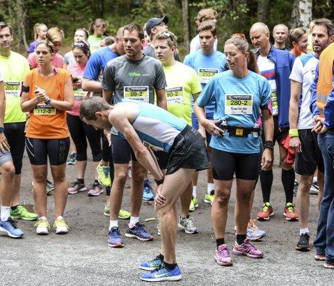 Morsomt slit: Ringeriksmaraton har en unik historie. I år arrangeres løpet for 23. gang.