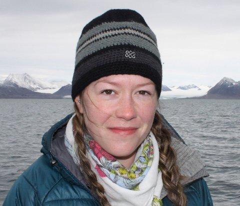 SKIFTAR JOBB: Marthe Gjerde (34) er tilsett som ny nasjonalparkforvaltar for Jostedalsbreen frå 1. juli. Ho kjem frå stilling som 1. amanuensis ved Høgskulen på Vestlandet i Sogndal.