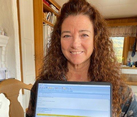 HÅPER PÅ BEDRE FRAMTID: Kelli Haugen har grått sine tårer for hjemlandet den siste tiden. Nå tror hun bunnen er nådd, og at det bare kan bli bedre herfra.