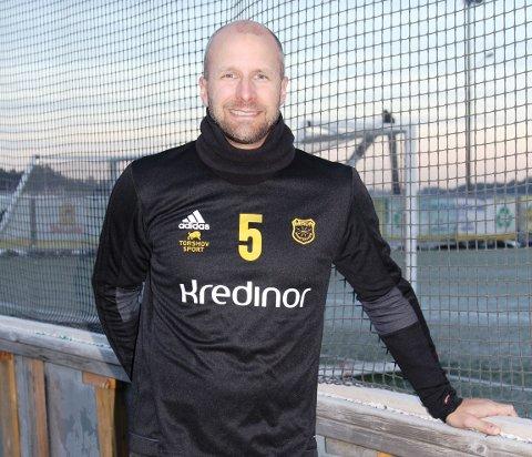 Fornøyd: Henrik Dahl er daglig leder i Bærum SK. Han er glad for at klubben fikk 25.000 kroner i stipend. FOTO: TOR BJØRNAR HOLMLUND