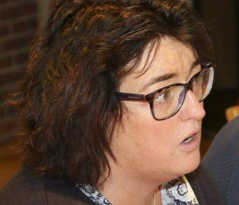 KRITISK: Høgre-gruppeleiar Arlene Vågene fryktar at bykset i eigedomsskatt vil råke dei unge nyetablerarane i kommunen.