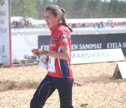 Marianne Riddervold Kahrs er vanligvis sikker som banken på åpningsetapper i stafetter.