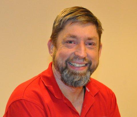 TEMPO: Anders Lervold er en aktiv kar, med et høyt tempo, både i jobb og fritid.