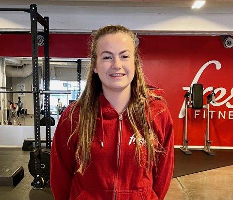 LEDER: Anne Elisabeth Austad Hvaleby fra Gran er daglig leder for to treningsenter i Oslo.