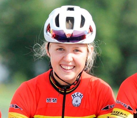 TALENT: Silje Mathisen fortsetter å imponere i nasjonale sykkelritt.