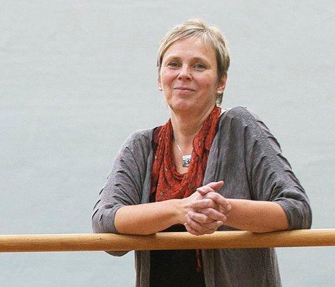 FRAVÆR: Rektor Kristin Støten ved Halden videregående skole sier deltagelse i klimastreiken registreres som ugyldig fravær. Arkiv.