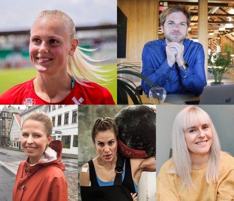 DELER: Denne uken har vi SMS-intervjuet Karina Sævik, Lars Eirik Støle, Trine Meling Stokland, Zekiye Nyland og Karoline Kolstø.