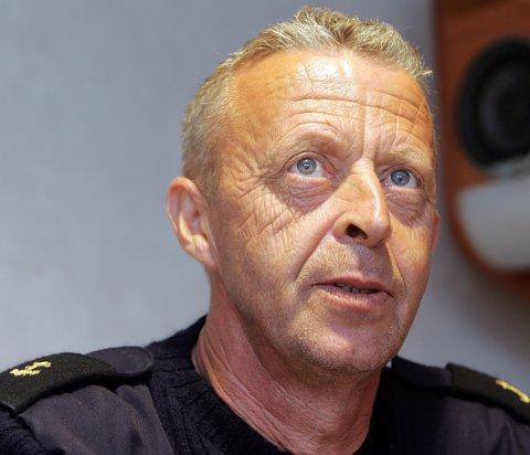 MØNSTRET AV: Inge Silden har jobbet i Utsira-sambandet i snart 42 år. Nå blir han pensjonist.