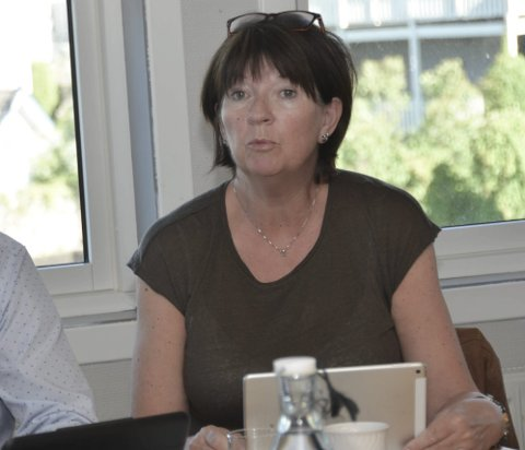 Sparer: Rådmann Inger Lysa orienterte formannskapet om sparetiltakene som helse og omsorg har satt i verk.