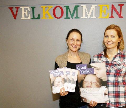 KURSHOLDERE: Susanna Borovski Lübeck (til venstre) og Inger Nordstrand håper på god oppslutning om kurset.