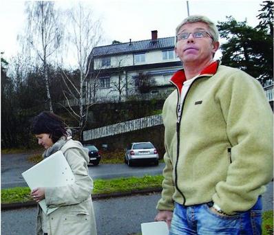 VIL IKKE BETALE: Svein Witzøe i Greverud Eiendomsutvikling og Kari Sivertsen fra Shark har klaget på tilknytningsgebyret for vann og avløp som Ski kommune mener de har krav på.