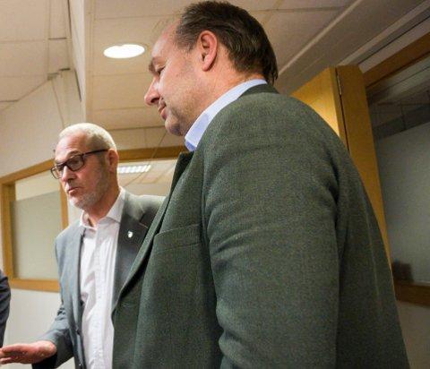 SVAR: Ordfører Rune Høiseth utfordres av Olaf Holm for å få en behandling av prosjektet rundt Kaupang før det er for sent.