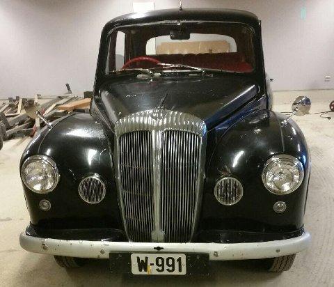 Denne bilen ble stjålet fra et verksted i Mo i Rana.