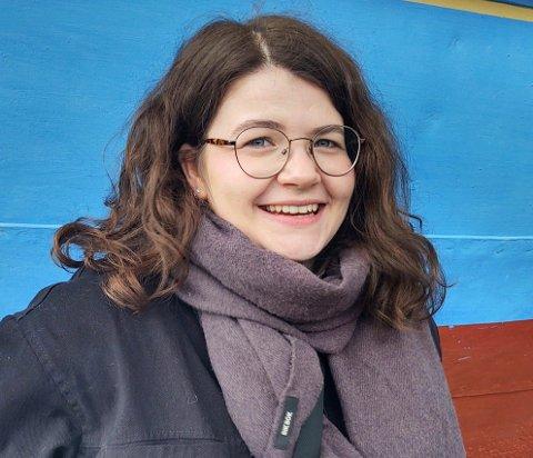 FIKSET JOBB I SOMMER: Ruth Amalie Olsen Torp skal jobbe i Rakkestad kommune i sommer.