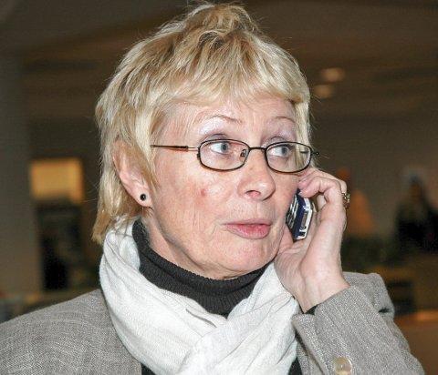 PENSJONISTVARA: Lise Wiik (69) skulle egentlig trappe ned det politiske arbeidet, men stiller på Stortinget som vara for Lene Vågslid frem til sommerferien og til høsten.FOTO: JARLE PEDERSEN
