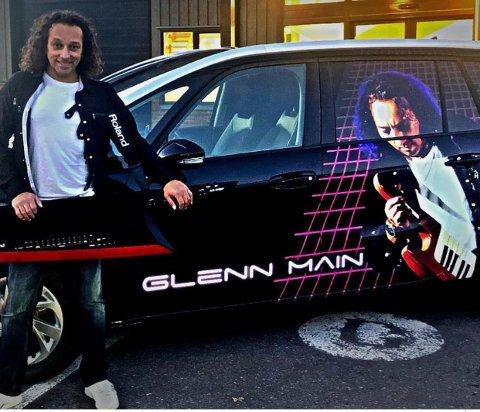 PROFILERING: Tar du bilde av denne doningen og sender det til sjåføren, Glenn Main Henriksen, vil det vanke musikk på deg.