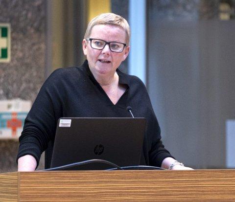 Lusie Gjersvoll ville gjerne vite hvorfor Sunndal ikke kom bedre ut på Åpenhetsbarometeret. Arkivfoto..