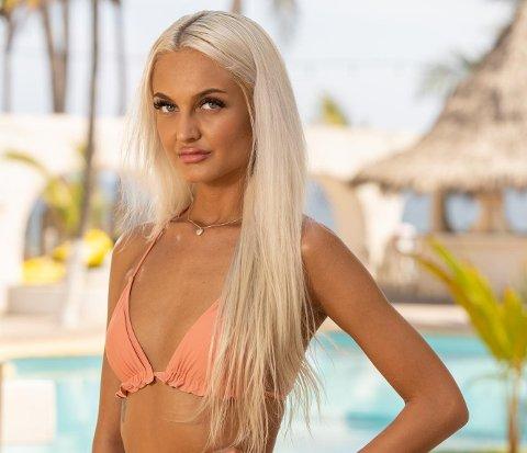 MED I REALITYPROGRAM: Veronica Jansen (21) fra Svelvik er én av deltakerne i den 15. sesongen av «Paradise Hotel» som har premiere mandag. Hun er både spent og nervøs i forkant av premieredagen.