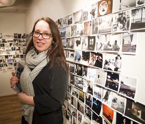 Reagerer: Billedkunstner Grethe Irene Einarsen fikk reisestipend for å reise til Paris. Hun fortviler over hvordan fylkeskommunen prioriterer pengestrømmen.