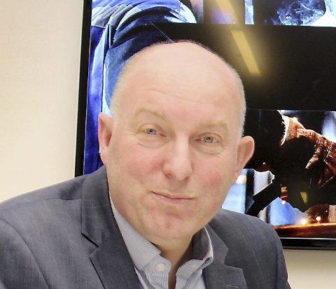 GODT I GANG: Øystein Snuggerud blir sjef i den nye Næringsbanken i Hedmark og Oppland.