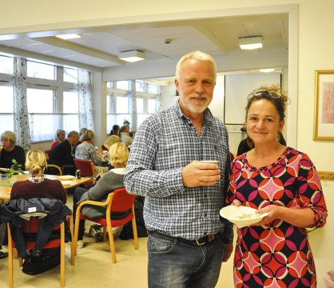 BYGGER LAG: Rektorene Jostein Stø (Idd) og AnnHelen Adler-Johannesson (Folkvang) er enige om at lagbygging tar tid. Derfor har de startet forberedelsene til sammenslåingen i 2018. – Vi ønsker ingen gjentakelse fra forrige gang, sier de.foto: Øivind Kvitnes